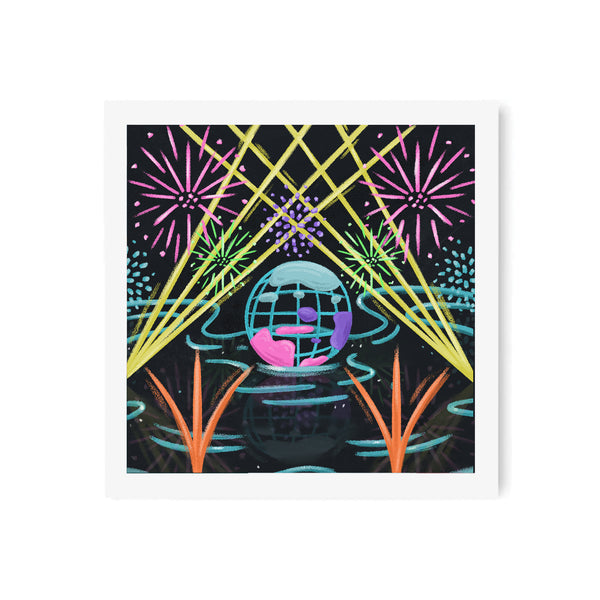 Illuminations Art Print