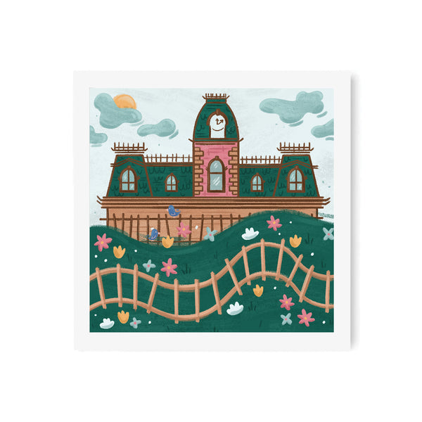 Kingdom Railroad Art Print