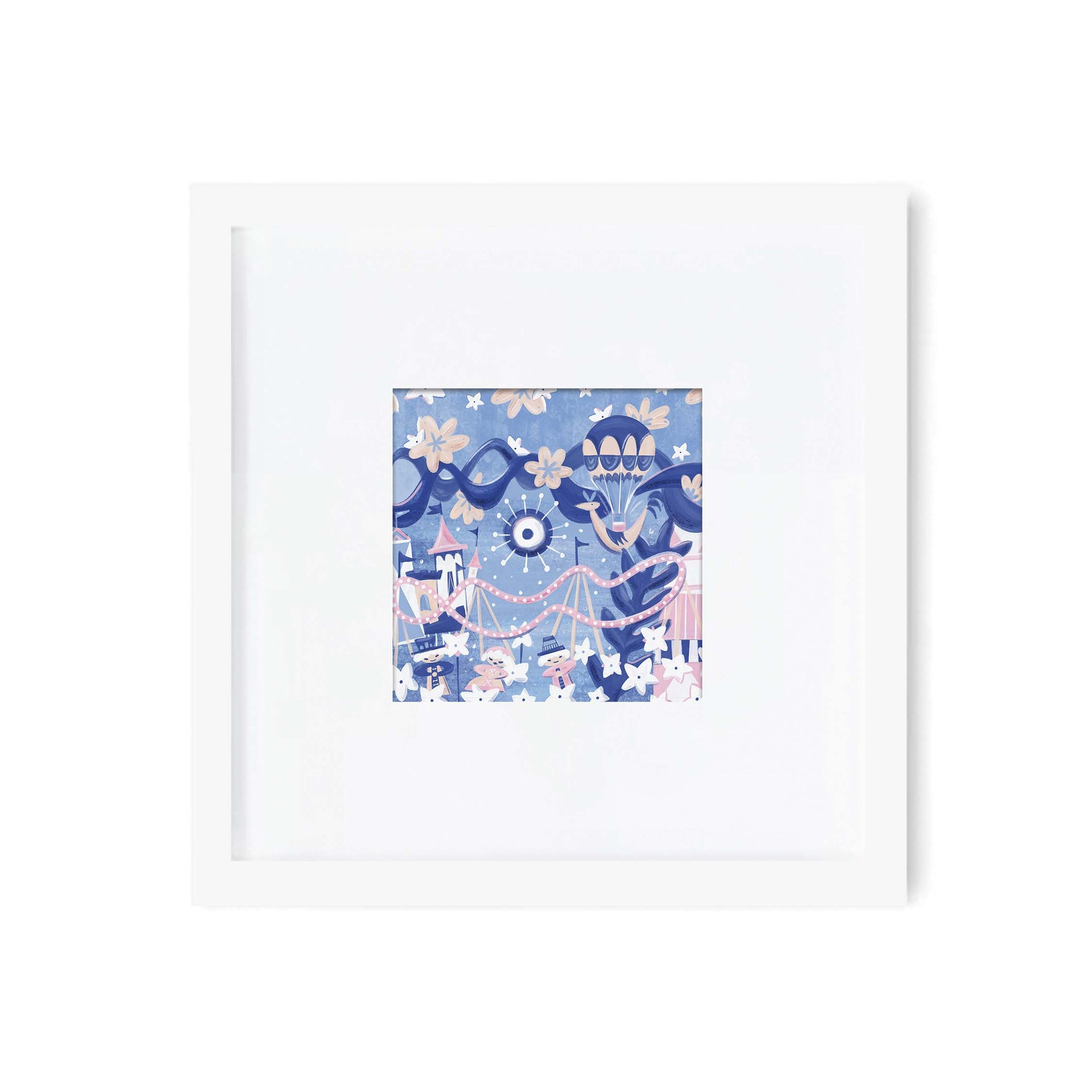 Small World Art Print