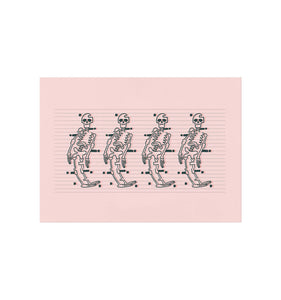 Skeleton Dance Art Print
