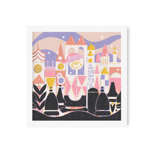 Holiday Small World Art Print