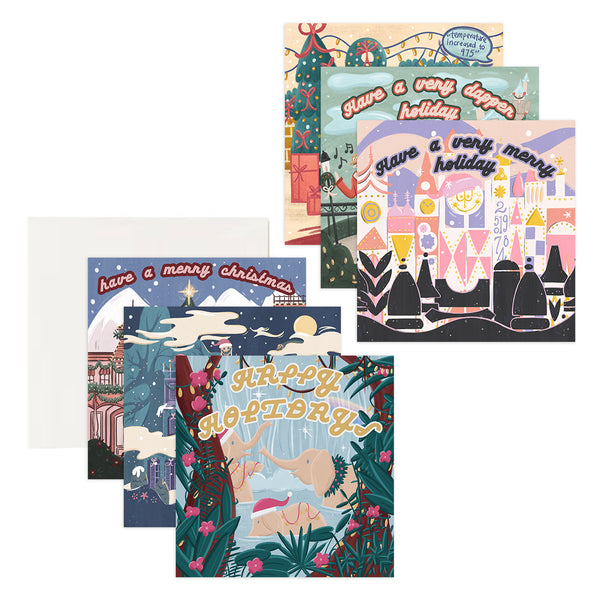 Parks Holiday Assorted Card Set