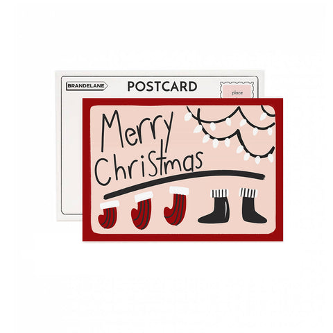 Merry Christmas Santa Post Card