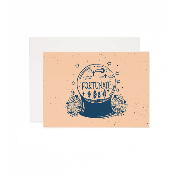 Fortunate Ball Greeting Card