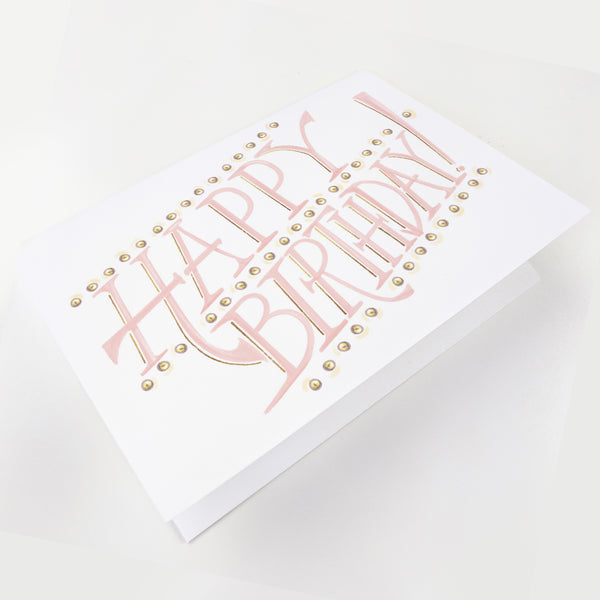 Bulb Pastel Signage Greeting Card