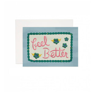 Feel Better Cake Greeting Card