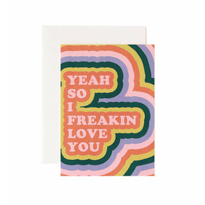 Rainbow Disco Greeting Card