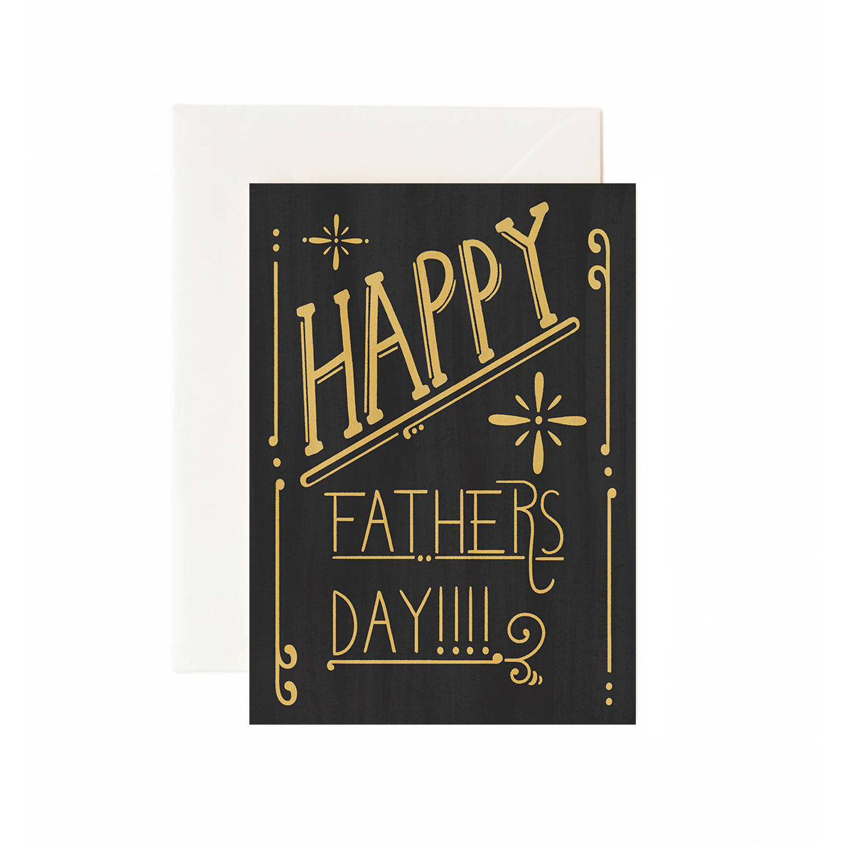 20's Father's Day Sign Greeting Card