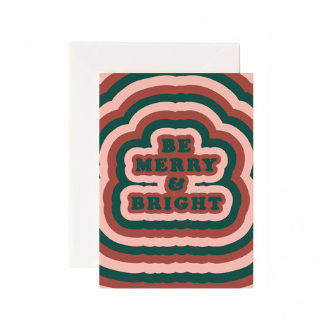 Be Merry and Bright Holiday Card
