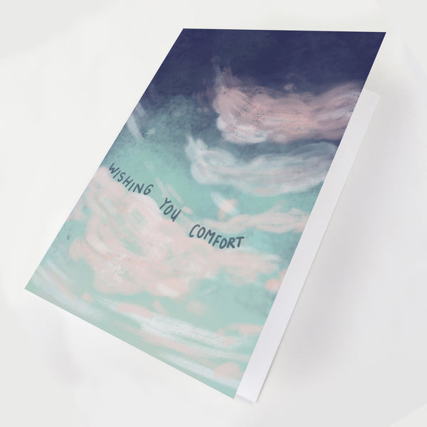 Cloud Sympathy Greeting Card