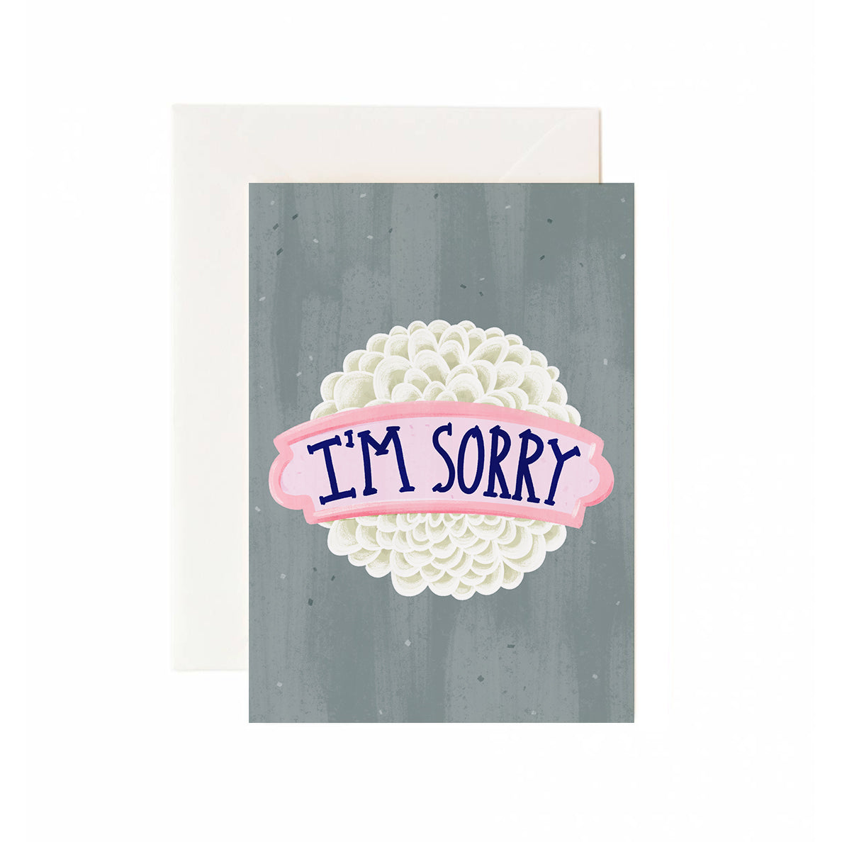 Flowery Sorry Greeting Card