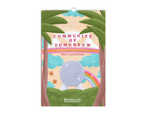 preorder: Community of Tomorrow 2021 12-Month Calendar