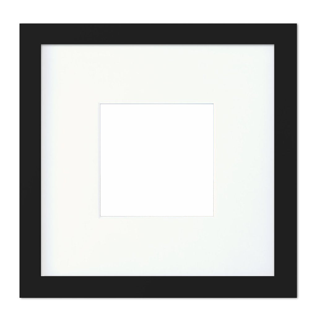 Black Square Wood Frame