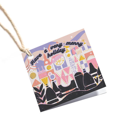 Small World Gift Tag