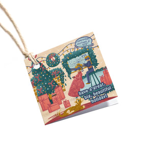 Progress Holiday Gift Tag