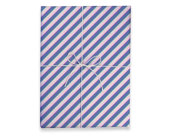 3D Diagonal Gift Wrap Sheets