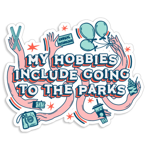 Hobbies Sticker