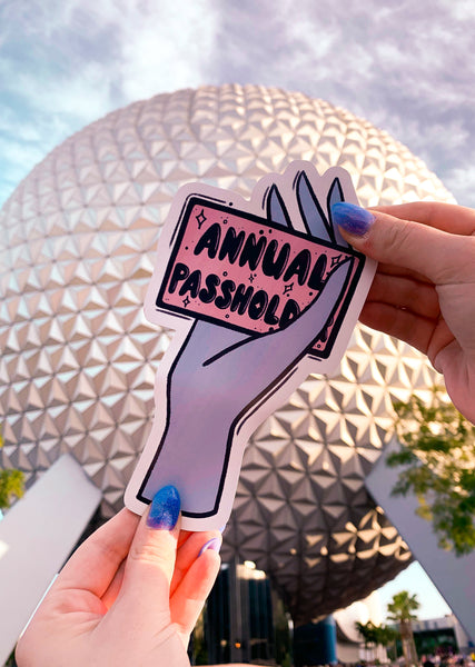 Annual Pass Holder Magnet