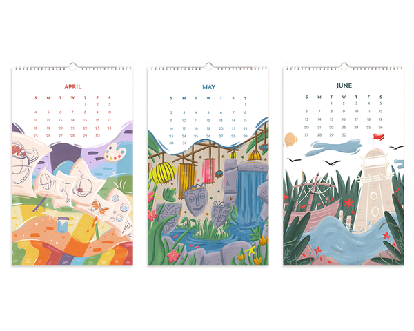 Resort 2021 12-Month Calendar