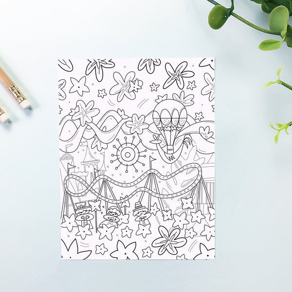Small World Coloring Sheet