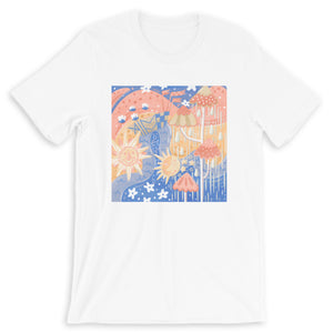 Pastel Small World Tee