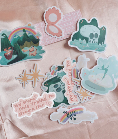 Peter Pan Sticker Bundle