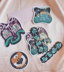 Haunted Sticker Bundle