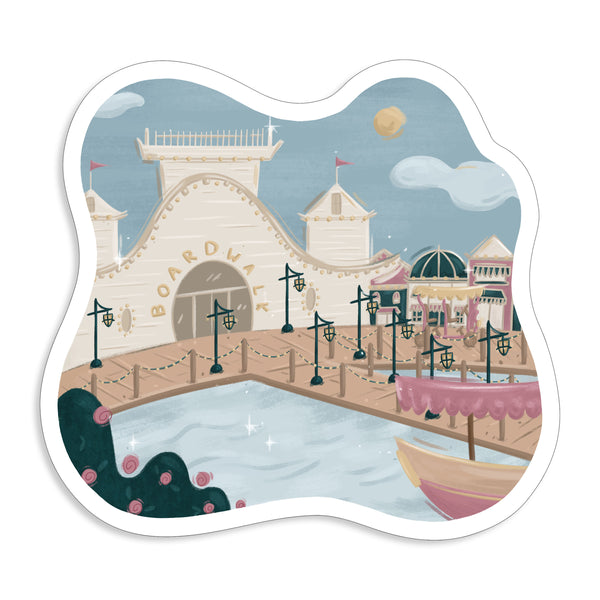 Boardwalk Sticker