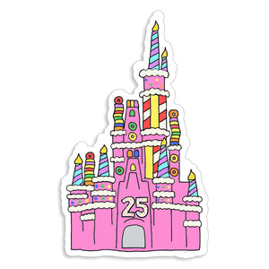 Cake Castle Sticker