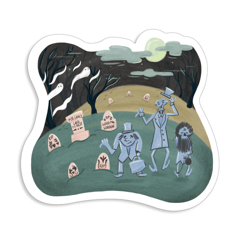 Haunted Sticker