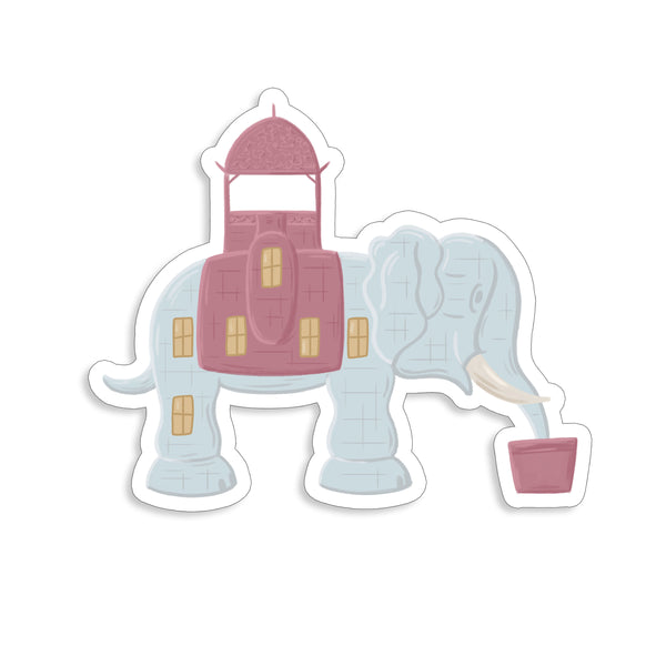 Lucy the Elephant Sticker