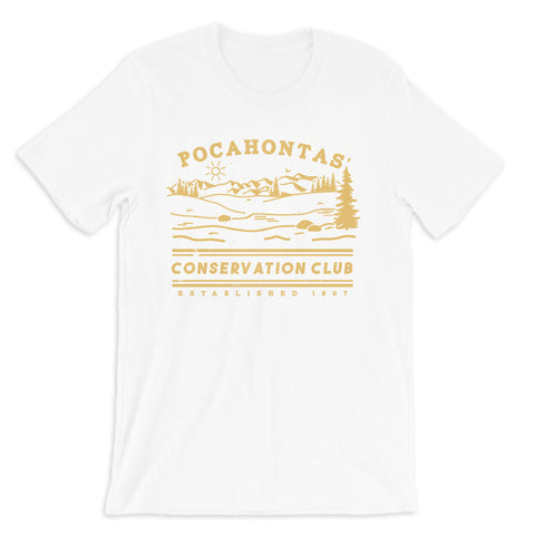 Pocahontas' Conservation Club Tee