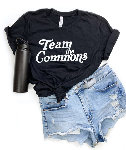 Black Team The Commons Tee