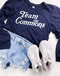 Navy Team The Commons Long Sleeve Tee