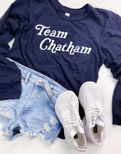 Navy Team Chatham Long Sleeve Tee