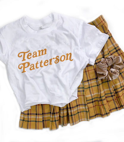 Team Patterson Crop Top