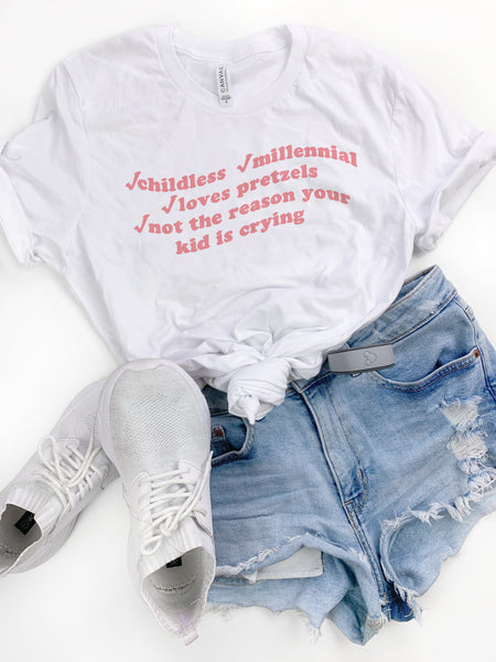 Childless Millennial Tee