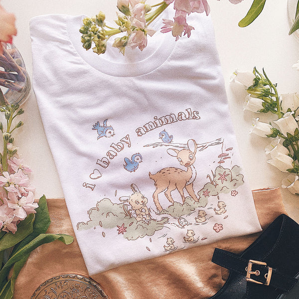 PREORDER: I Love Baby Animals Tee