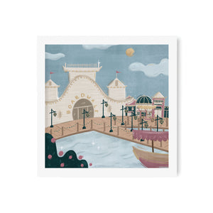 Boardwalk Art Print