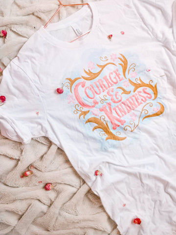 Courage and Kindness Tee