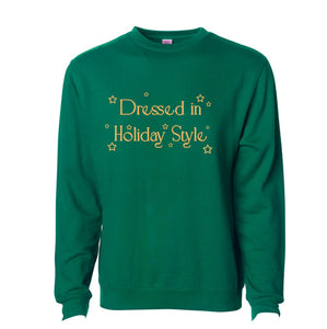 Dressed In Holiday Style Crewneck