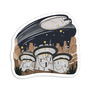 Galaxy Sticker