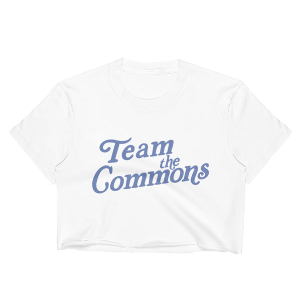 Team The Commons Crop Top
