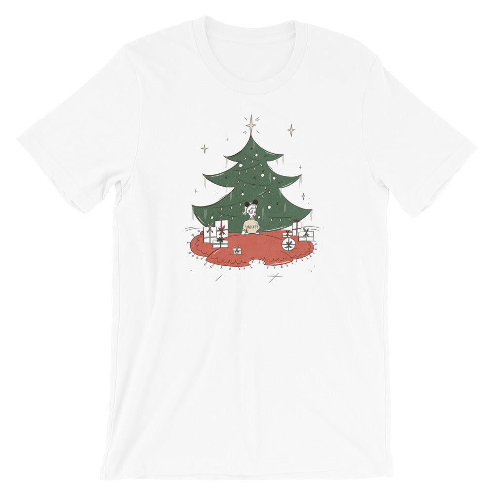Tree Skirt Dapper Mickey Women's Tee