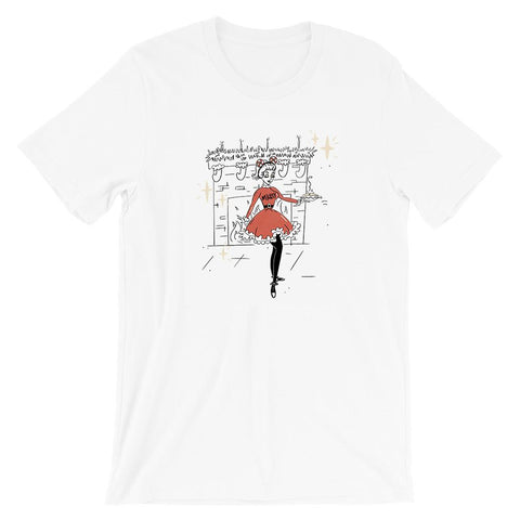 Christmas Party Host Dapper Mickey Tee