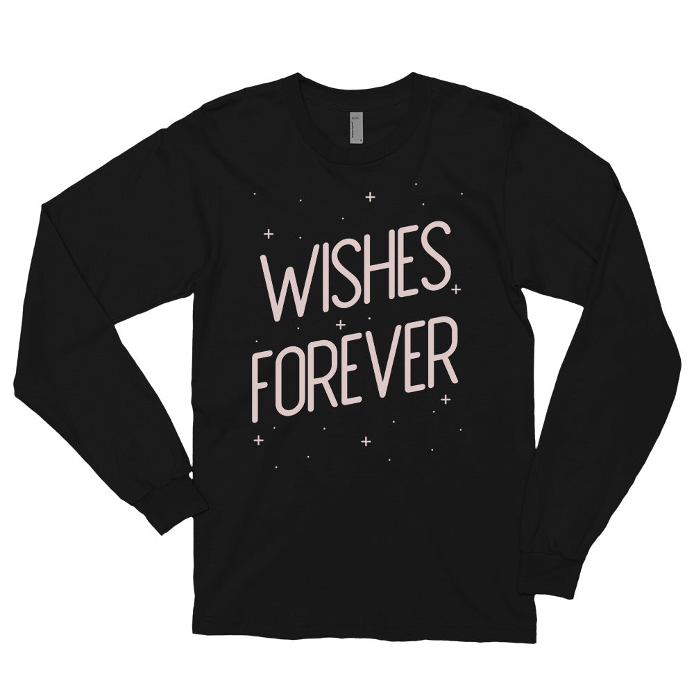 Black Wishes Forever Long Sleeve Tee