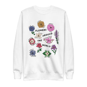 Flowers Around the World Sweater