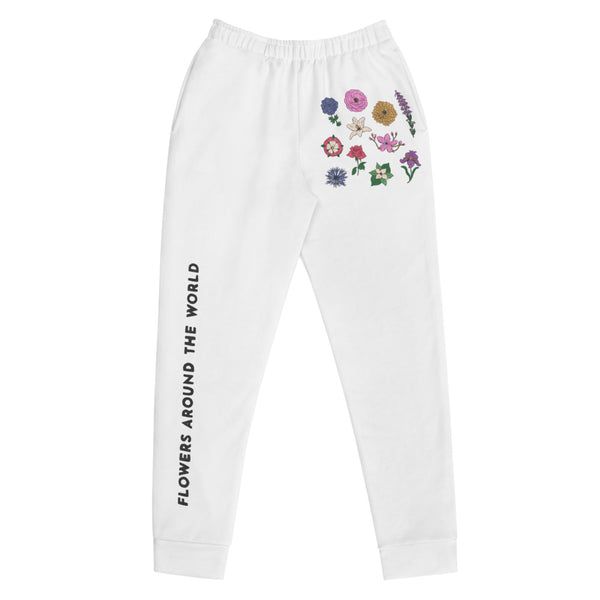 Flowers Around the World Joggers