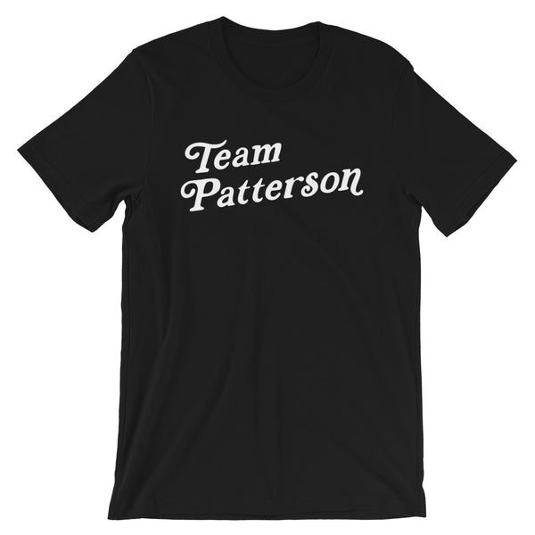 Black Team Patterson Tee