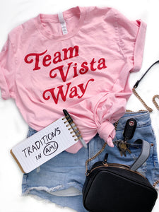 Pink Team Vista Way Tee